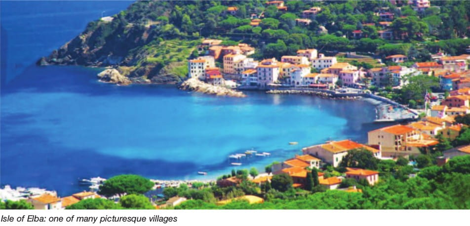 Isle of Elba: one of many picturesque villages