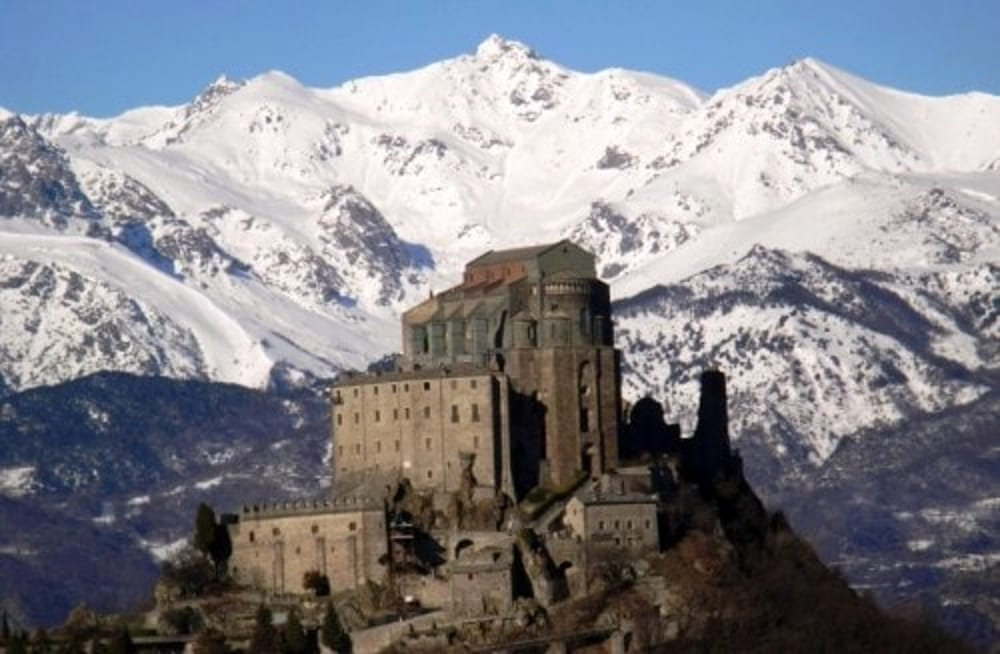 The 11th century Abbey of Sacra Michael is located at 1,000m above sea level