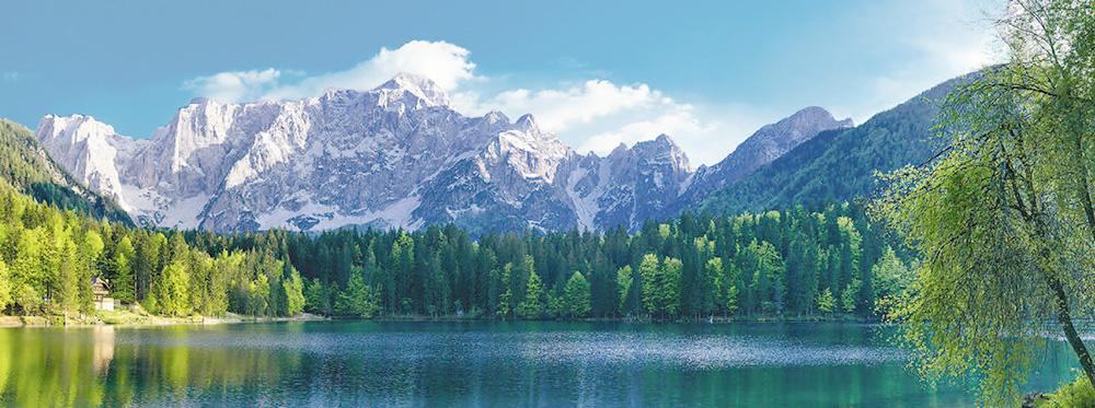 Eastern Alps, Friuli Region - Lake Fusine