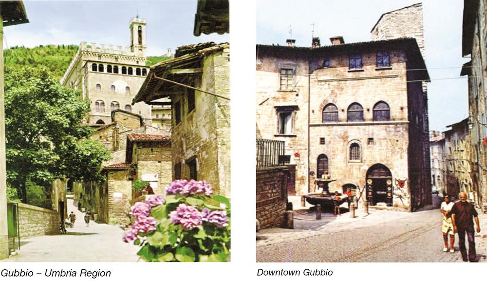 Gateway into Fortress town of Corinaldo - Marche Region & Offagna - Marche Region