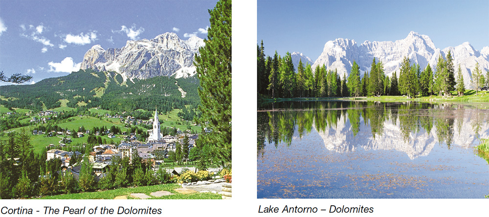Cortina - The Pearl of the Dolomites & Lake Antorno - Dolomites
