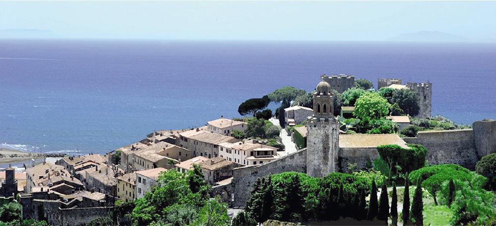 Castiglione della Pescaia - Tuscany's coastline