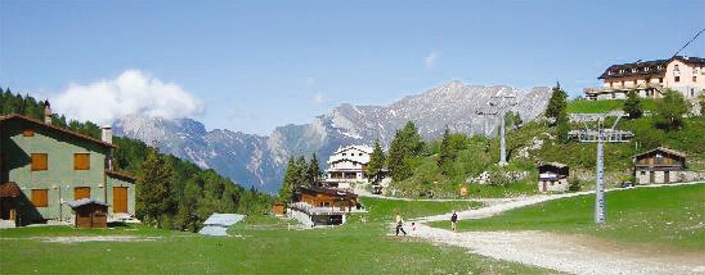 The Alpine village of Barzio