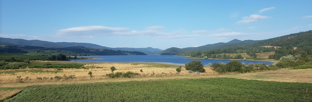 Calabria Region - La Sila National Park features Lake Arvo at 1,300m
