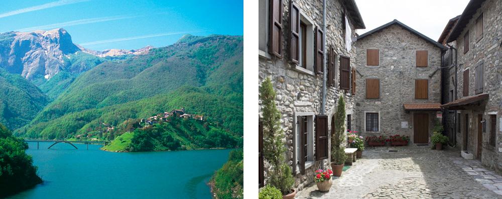 Tuscany's Garfagnana – Images of the village of Vagli and its lake