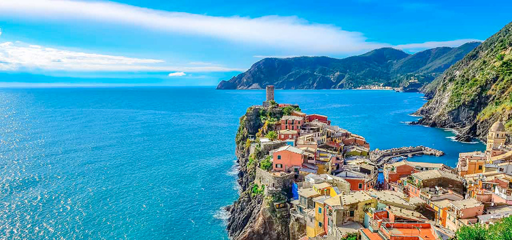 Vernazza is one of the five villages making up the Cinque Terre