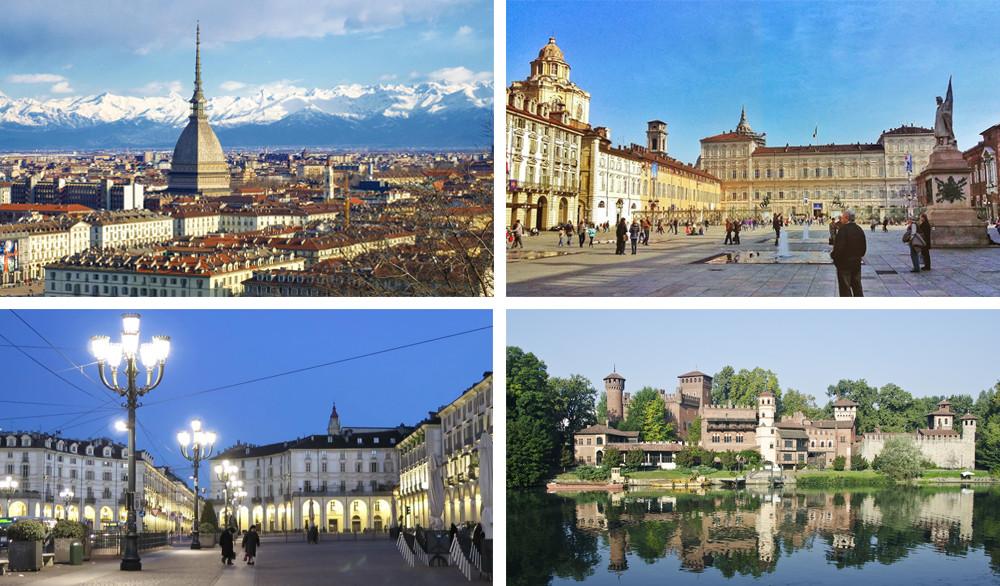 Images of Torino, capital of the Piemonte Region.