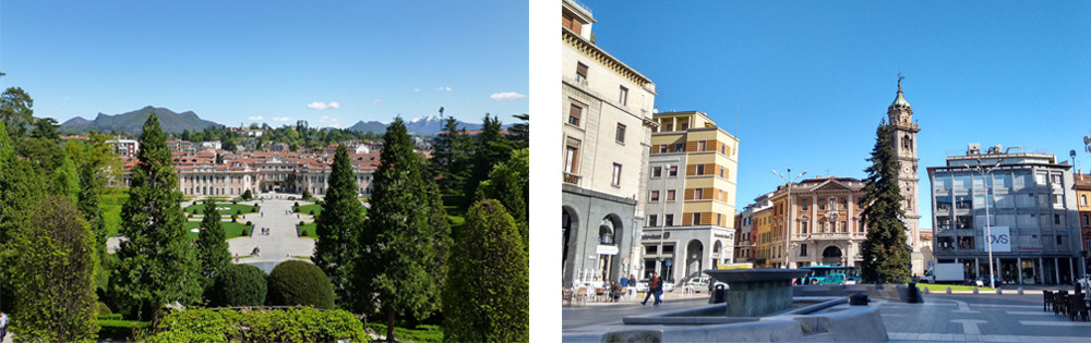 Region of Lombardia – Images of the elegant city of Varese.