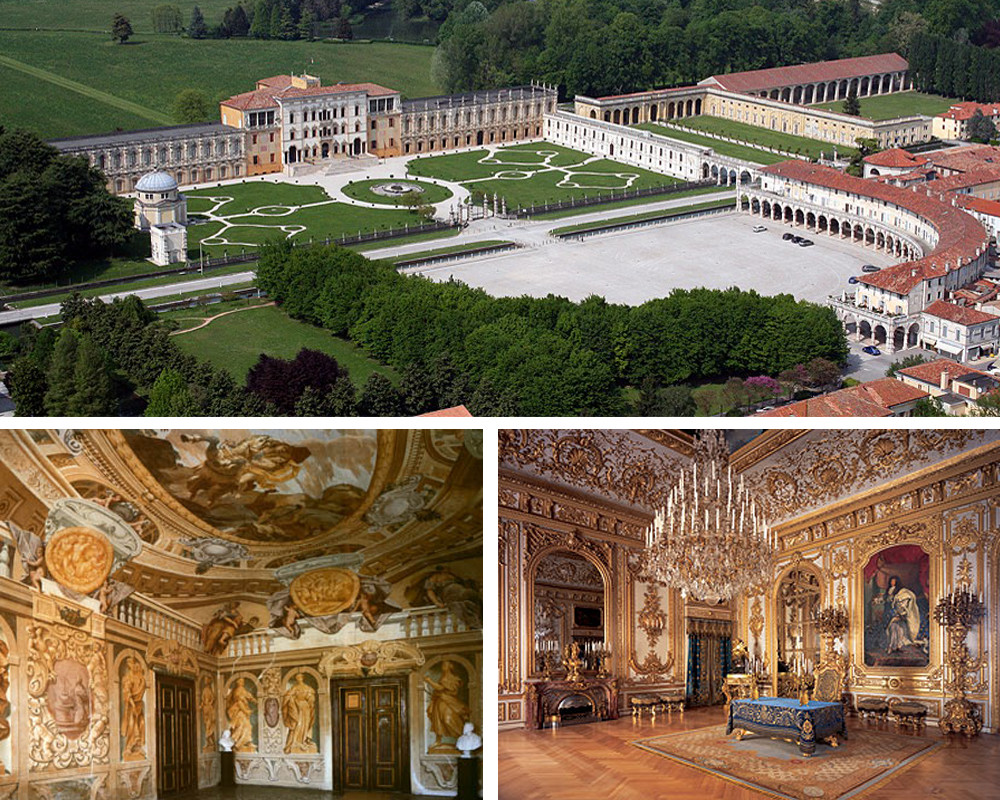 Veneto Region – Images of Villa Contarini.
