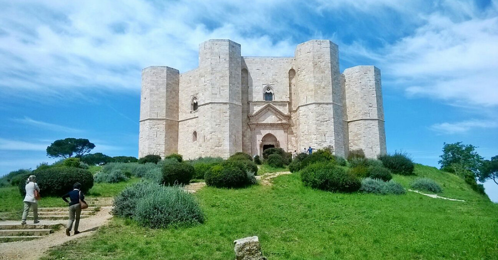Puglia Region - The National Park of High Murge boasts Castel del Monte (at 550m) built in the 13th century