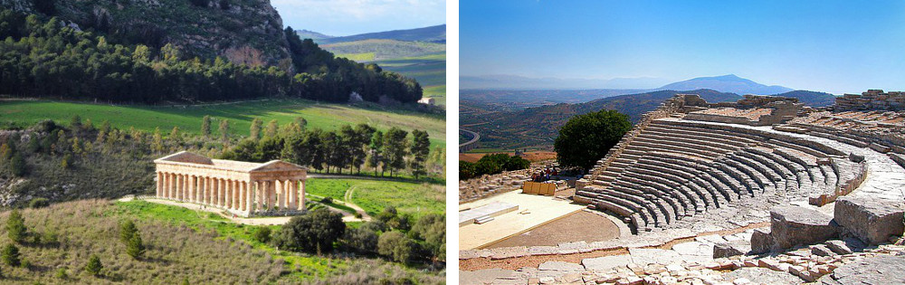 Segesta – These images are a testimony of the ancient Greek civilization