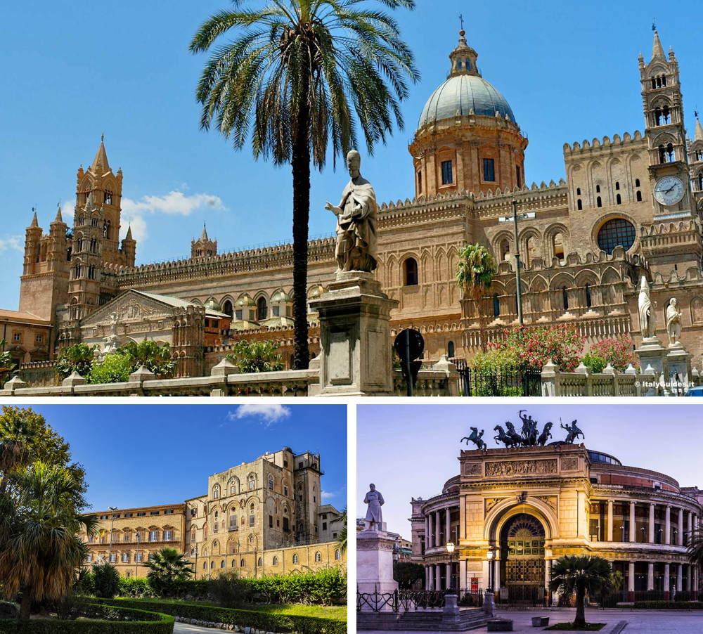 Images of Palermo, the capital of Sicily