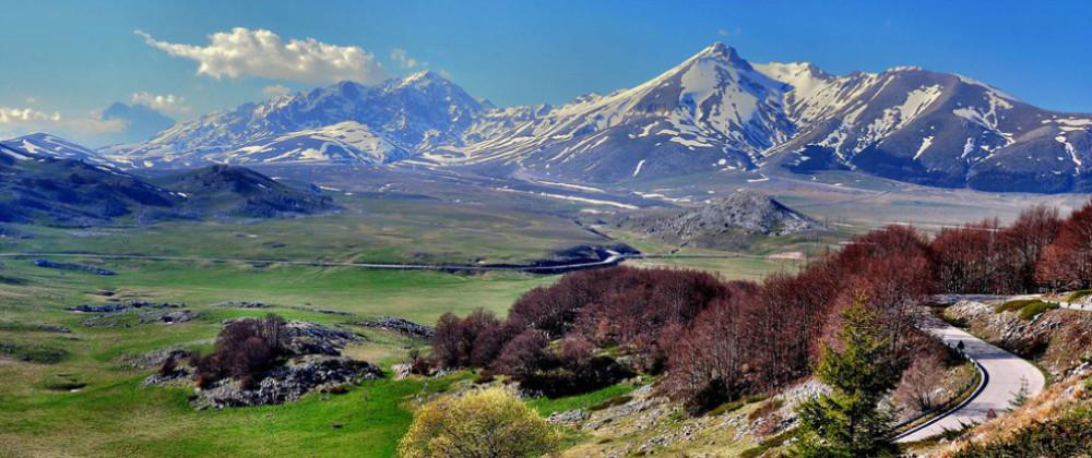 Abruzzo Region - Campo Imperatore in the National Park of Mount Gran Sasso
