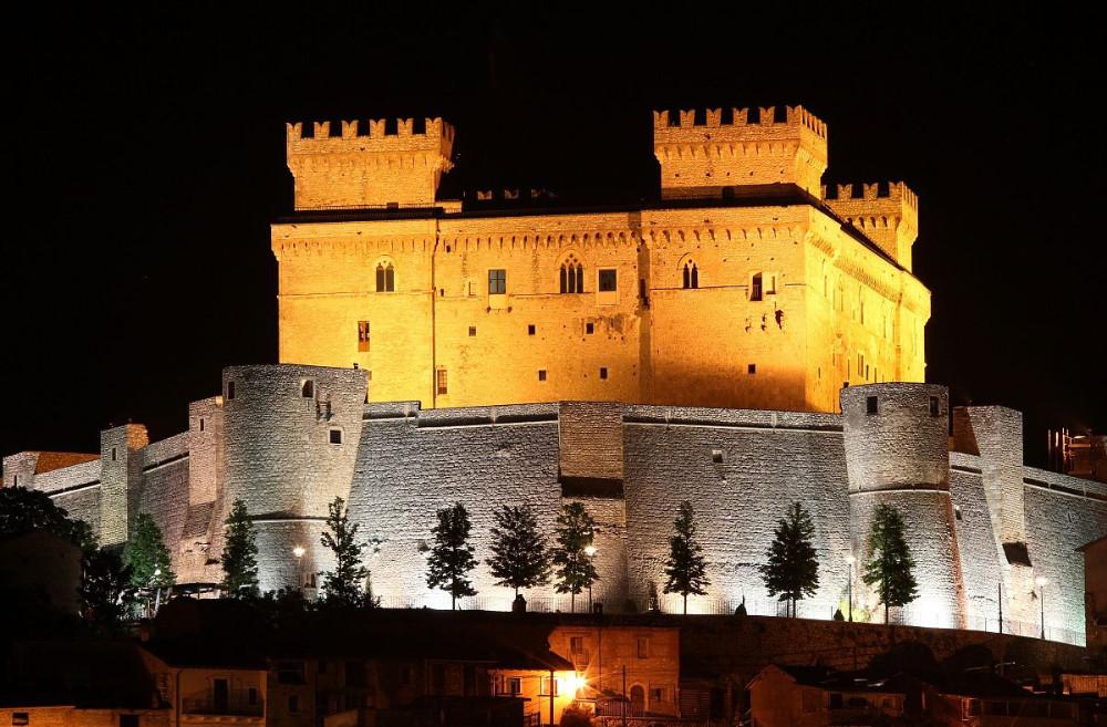 Abruzzo Region - The imposing Castle of Celano