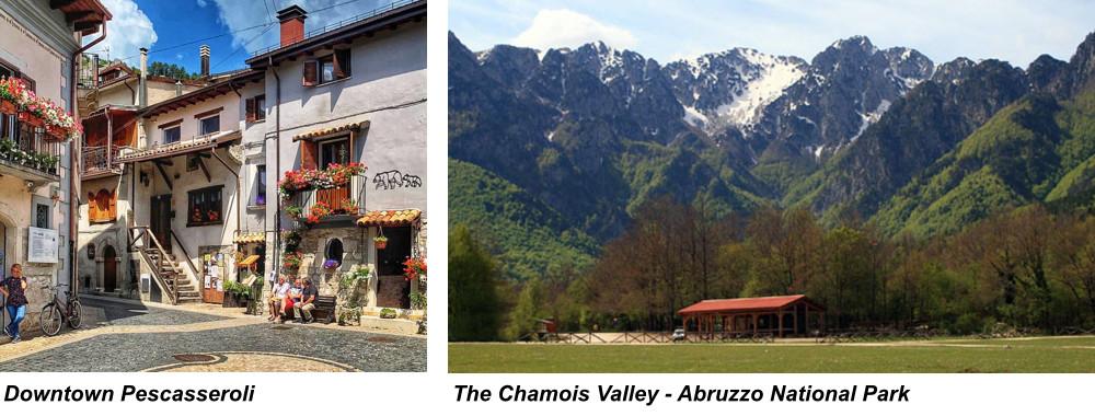 Downtown Pescasseroli. The Chamois Valley - Abruzzo National Park