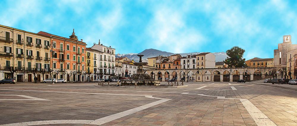 Abruzzo Region - The historic main square of Sulmona